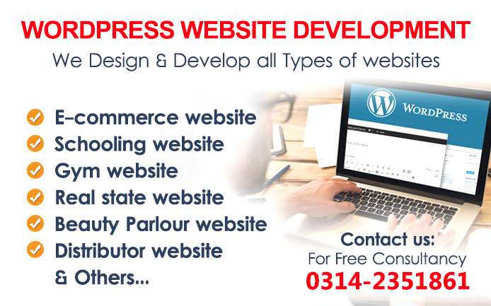 Website Design & Development Agency in Karachi 0