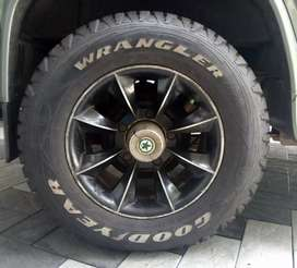 Alloy wheels for Bolero,Thar etc