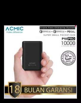 Powerbank Acmic P10  Pro 10000 Mah