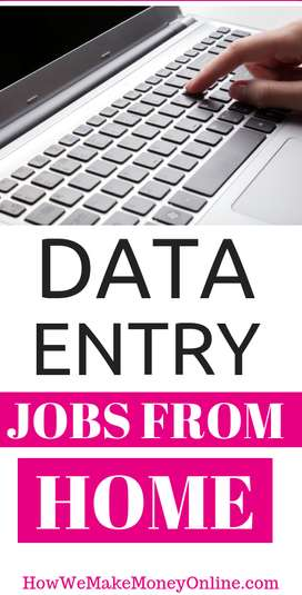 Simple DATA ENTRY work Part time HOME BASE job EARN 4000 to 5000/-