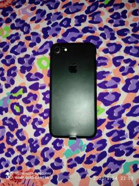 Iphone 7 (32 gb, black, with bill, normal battery health)