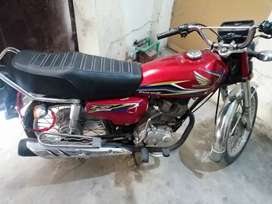 Cg 125 17B in neat and clean for sale!!