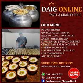 Daig Online - Food Delivery Services