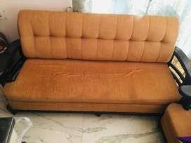 1 Sofa | 2 Sofa chairs | 1 Center table