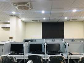 Office space, call centre seats,software house