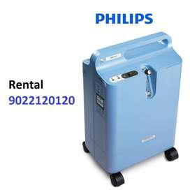 Rent Philips Portable Oxygen Home Concentrator Machine Rs 3990 month