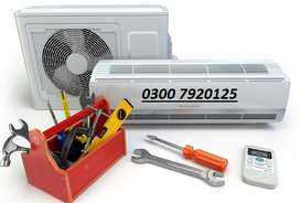 Split AC Installation shifting AC Repair Gas charge Service Islamabad