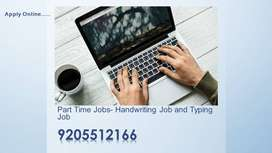 Handwriting JOB & Offline Typing Job (work from home)