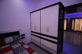 2bhk ready to move flats well furnished society mohali NH21