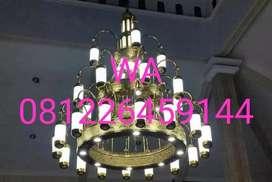 Replika Lampu Gantung Hias Masjid Nabawi Madinah