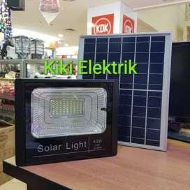 Lampu Sorot Tenaga Surya 40 watt / Lampu Solar Cell / Tenaga Matahari