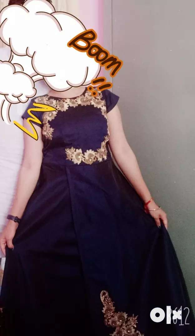 Navy blue Gown 0