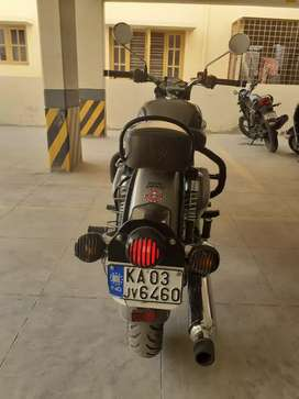Royal Enfield Classic Gun Metal Grey Bullet Oct 2018 model