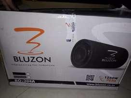 Bluzon new bass tube 1250watts Inbuilt amplifier.
