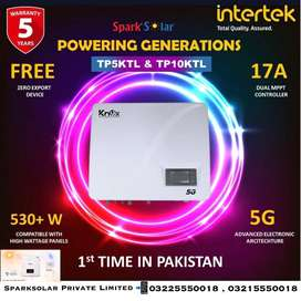 Knox 10kw OnGrid 3P 5G Solar Inverter Compatible with 550+ 17A MPPT 5Y