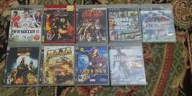 Pack of 9 PS3 games