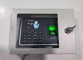 Biometric thumb impression time attendance machine