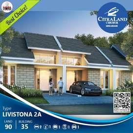 Rumah minimalis termurah tipe 35/90 di citraland cibubur