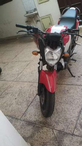 Bike is good condition and new front and back tyres