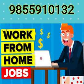 Work@Home   Part Time   Data Entry   Computer Operator   Online Work