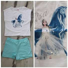 Jeggings  Export summer stock lot wholesale garments t-shirt