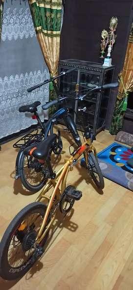 Sepeda Lipat Pacific 2980HT & Exotic Explore 300 SELI
