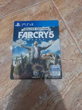 Kaset ps4 Farcry 5 deluxe edition
