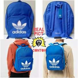 Backpack Adidas BP Clas Trefoil Classic Blue DJ2172 Tas Original