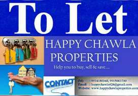 Two bhk ground floorportion available in vikas nagar