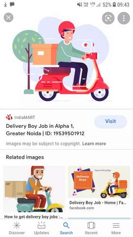 Delivery Jobs part time and full time
