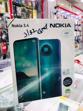 Nokia 3.4 Box Pack Mobile