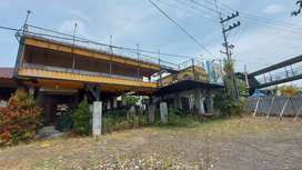 Bangunan ex cafe Ria Djenaka, nempel Jatim Park 3 Batu