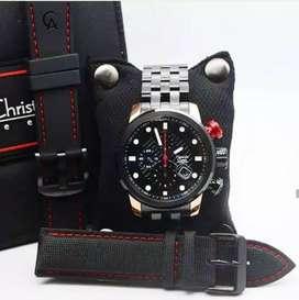READY  Jam tangan Alexandre Christie AC 6163 Laki-Laki