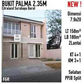 Rumah Bukit Palma Citraland Surabaya Minimalis Mewah Baru Nego