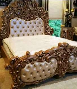 jual tempat tidur jati