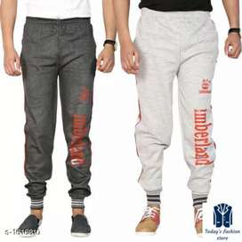 Combo Mens Handsome Simple Hosiery Cotton Blend Track Pants