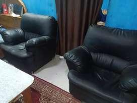 Sofa Set Black