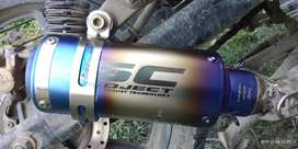 SC project exhaust pipe
