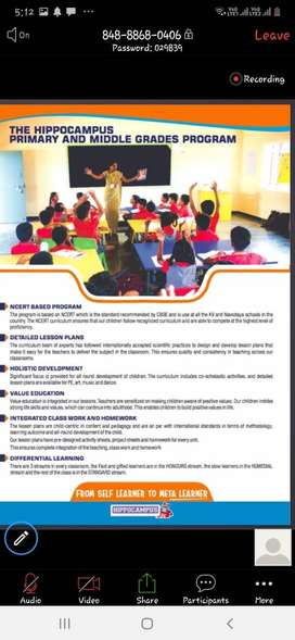 Teachers Needed for all subjects for K.R. Pete English School