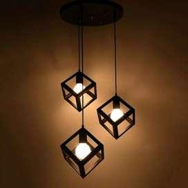 Kap lighting lampu hias lampu retro lampu industrial lampu gantung