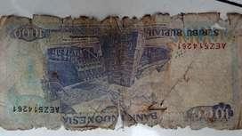 Di jual cepat uang Rp 1000 thn 1992