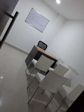 Office space fully furnished main market
