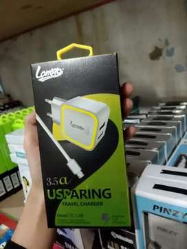 PROMO!-CHARGER CAS HP CEPAT LAMIGO USPARING MICRO USB LED