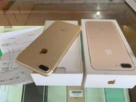 iphone 7 plus 128GB gold like new ex ibox