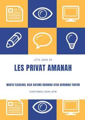 Les Privat Tingkat SD/MI bahasa arab aktif