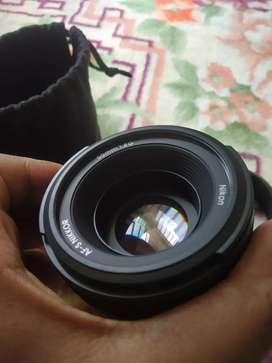 Nikon 50mm Prime lens 1.8 G
