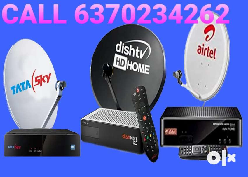 AIRTEL ! VIDEOCON D2H ! DTH CONNECTION ! TATA SKY ! DISH TV ! TV 0