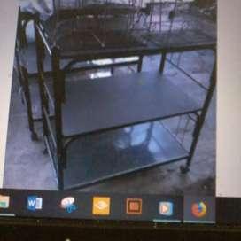 Meja tv baru dan komputer