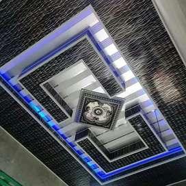 Cantik menarik indah plafon pvc buat ruangan tamu