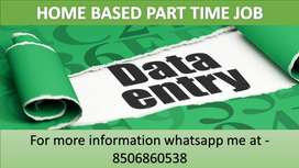 Ad Posting and Typing job Part Time Data Entry Job Home based job